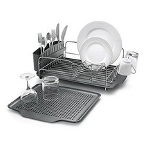 Metal Dish Rack Drainer Drying Strainer Kitchen Stainless Steel Organize... - $106.08
