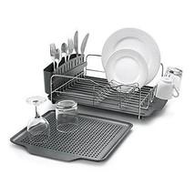 Metal Dish Rack Drainer Drying Strainer Kitchen... - $106.08