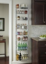 Kitchen Organizer Storage Wall Door Rack Adjustable 8 Tier Home Pantry C... - $81.78