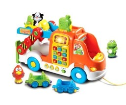 Toys Games VTech Pull and Learn Car Carrier Pull Toy Baby Toddler play - $59.99