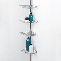 Bath Storage Bathroom Toiletry Rack Holder Corner Shower Caddy Shelf Org... - $57.86