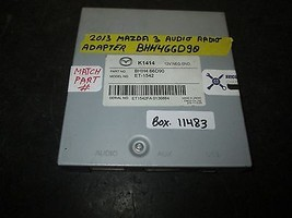 13 Mazda 3 Audio Radio Adapter #Bhh466 D90 *See Item* - $133.65
