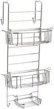 InterDesign Over The Door Shower Caddy, Chrome ... - $47.54
