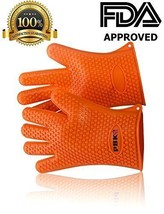 Heat resistant Silicone BBQ Gloves. Use as Cooking Gloves, Oven Mitts, P... - $32.40