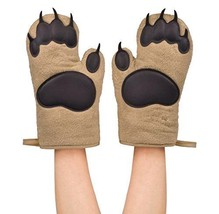Cooking/Baking Kitchen Accessories Bear Hands Oven Mitts 2-Piece Heat-Re... - $30.10