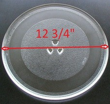 """12 3/4"""" G.E. WB49X10129 Microwave Clear Glass Turntable Plate/Tray  - $39.19"""