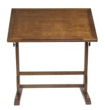 wood vintage drafting drawing table adjustable ... - $296.76