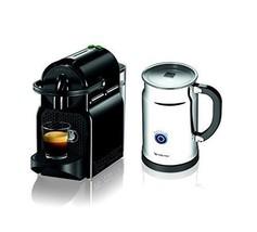 Bar Kitchen Equipment Espresso Maker Machine Black With Aeroccino Milk F... - $320.76