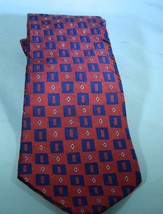 Men's Tommy Hilfiger Tie Red and Blue - $8.59