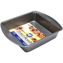 "Cooking Baking Kitchen Equipment 8"" Square Cake Pan Non-Stick Surface ... - $16.30"