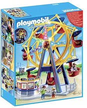 Action Figures PLAYMOBIL Ferris Wheel with Lights Set Games Toys boy - $138.04