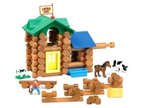 Toys Games The Original Lincoln Logs White River Ranch Building Set