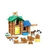 Toys Games The Original Lincoln Logs White River Ranch Building Set - $2.537,37 MXN