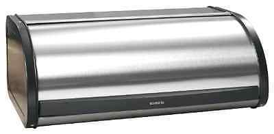 Kitchen Home Organizer Stainless Steel Bread Box Roll-Top Storage Large-Capacity
