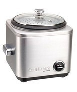 Home Kitchen Appliances Electric Rice Cooker 4-Cup Capacity Stainless Steel - £74.75 GBP