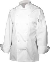 NEW Chef Works SE52-WHT Monza Executive Chef Co... - $103.56