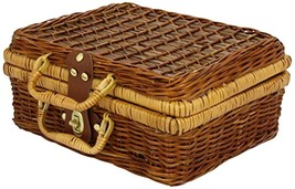 Toys Games Vilac Baby Toy Tin Doll Dinner Party in Wicker Basket - $99.22