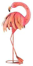 Patio Lawn Regal Art and Gift Preening Pink Flamingo Standing Art, 25-Inch - €75,59 EUR