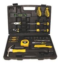 Stanley 65-Piece Homeowner's Tool Kit Repair Set, Home Garage Case, Hamm... - $92.16