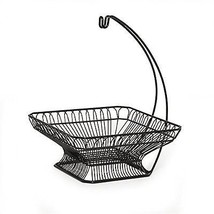 Fruit Basket Bowl Vegetable Wire Hanger Storage Kitchen Holder With Bana... - $79.89