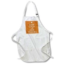 3dRose LLC apr_161168_1 22 by 30-Inch Apron with Pockets, Full, White, K... - $74.06