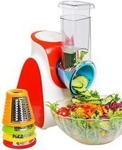 Electric Salad Maker Food Processor Vegetables Fruits Slicer Chopper Shr... - €56,23 EUR