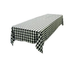 NEW LA Linen Checkered Tablecloth, 60 by 120-In... - $69.10