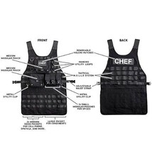 NEW Tactical Chef Apron by ThinkGeek HOME/Kitchen Fast Shipping - $99.08