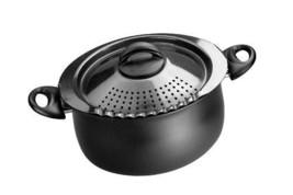 Kitchen Cooking Equipment Charcoal Pasta Pot 5-Quart Capacity Aluminum C... - $68.72