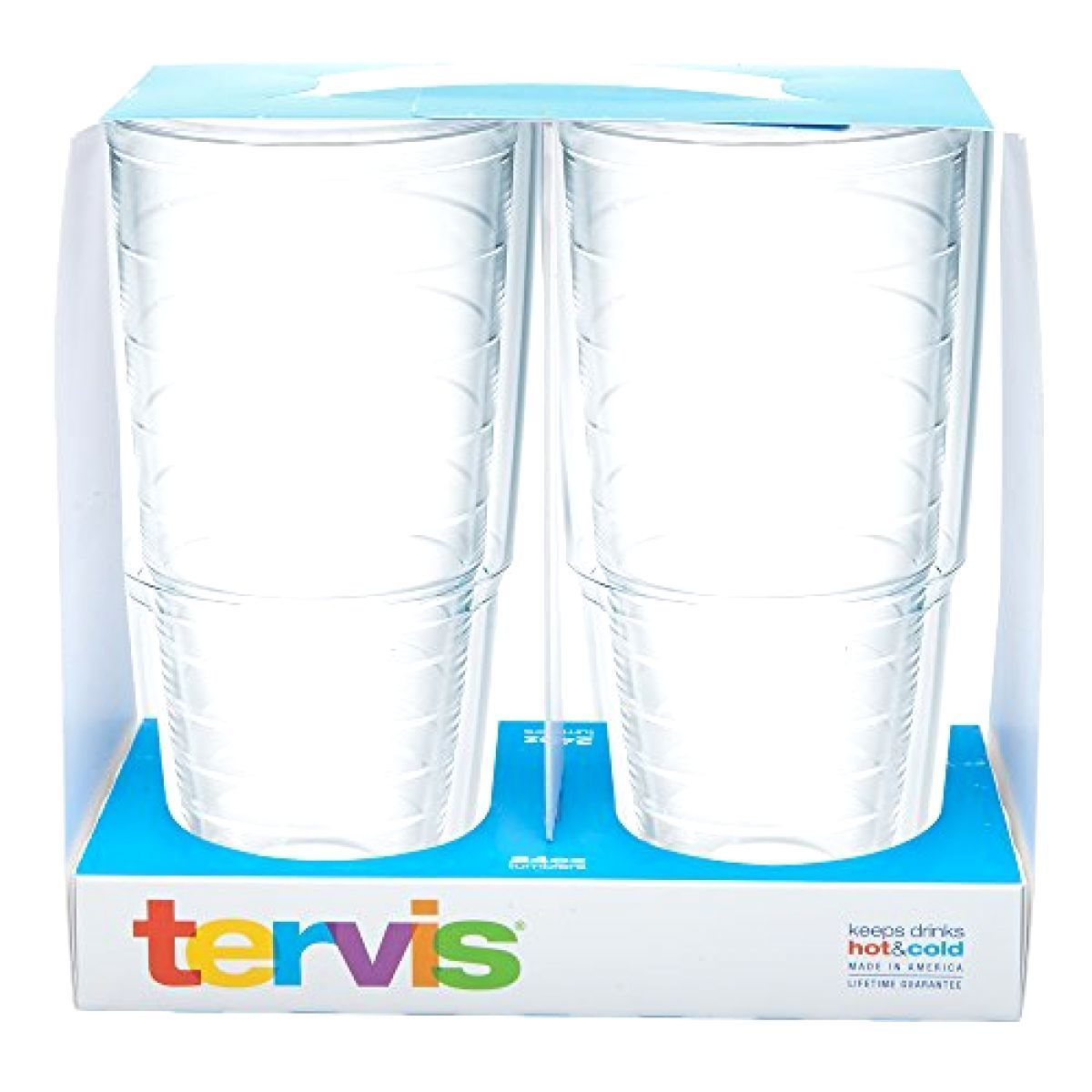 Kitchen & Dining Tervis Tumbler, 24-Ounce, Clear, 2-Pack HOME