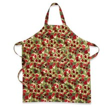 Couleur Nature Fruit Kitchen Apron, Red/Green HOME FREE Shipping - $63.70