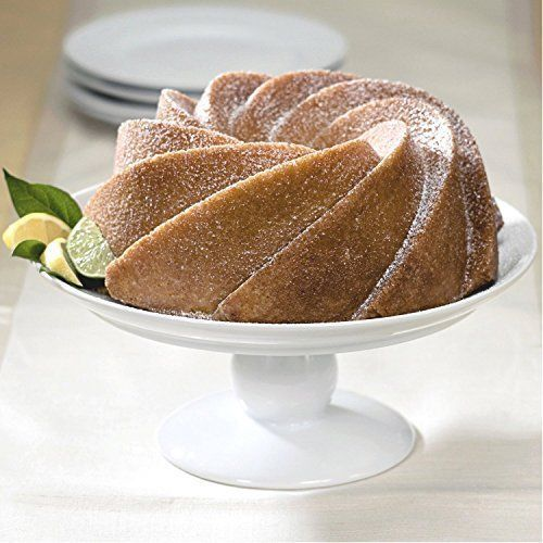 Decorative Cake Pan Heritage Bundt Swirls Baking Holiday Party Petals Bunt Gift