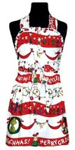 NEW Dr. Seuss in the Kitchen Baby Delilah Children's Apron, Merry Grinchmas - $52.86
