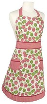 NEW Now Designs Betty Apron, Raspberries HOME FREE SHIPPING - $50.78