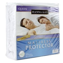 Memory Foam Mattress Topper Bed COVER PROTECTOR Pad Cotton Waterproof Qu... - $50.68