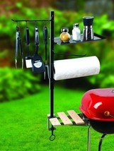Grill Tools Organizer BBQ Accessory Holder Outdoor Patio Barbecue Cookin... - £36.04 GBP