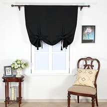 Nicetown Full Shading Panel- Thermal Insulated Rod Pocket Adjustable Tie... - $48.40