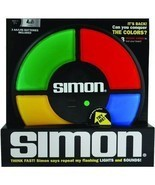 Electronic SIMON Large Classic FULL SIZE memory light sound says game BO... - £34.55 GBP