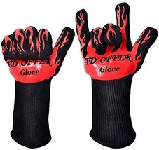 Best Kitchen Oven Gloves Heat Resistant 666°F ... - $46.18