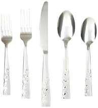 Blossom Sand 20-Pieces Flatware Spoon Fork Butt... - $46.18