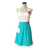 G2Plus®Lovely Classic Style Women's Cooking Apron Kitchen Apron Baking ... - $43.88