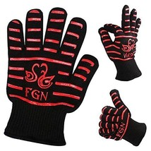 FGN the Double Oven Gloves with Fingers-932°f Heat Resistant-cut Resist... - $43.88