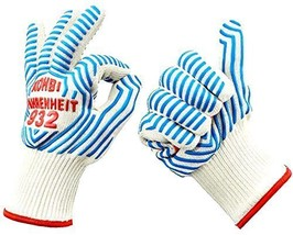 Cooking Gloves - Heat Resistant Gloves - use as Pot Holders, BBQ Gloves,... - $41.58