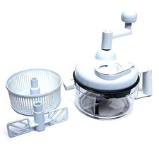 Hand Operated Food Processor Kitchen Miracle Ch... - $34.68