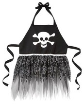 NEW Halloween Skull Apron - Ganz Multi Purpose Halloween Skull Apron - $34.68