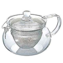 Kitchen Home Accessory Kyusu Maru Tea Pot Glassware Clear Glass 450-ML C... - $32.68
