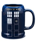 20Oz Doctor Who Multicolored Dishwasher/Microwave Safe Ceramic Stein/Gif... - $33.34