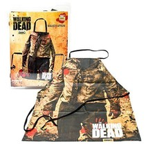 NEW Walking Dead Zombie Torso Walker Print Apron HOME/Kitchen Fast Shipping - $30.98
