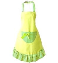 Hot Lovely Cheap Funny Aprons Green Girls Women Cupcake Shop Fashion Apr... - $27.80