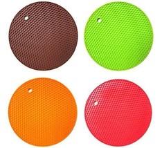 Set of 4 (Same Color) Silicone Pot Holder, Triv... - $26.64
